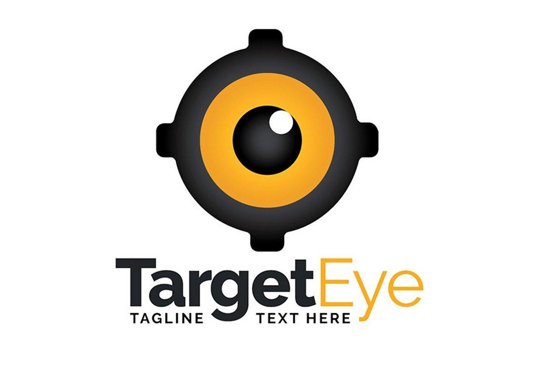 Target Eye - Free Logo Template