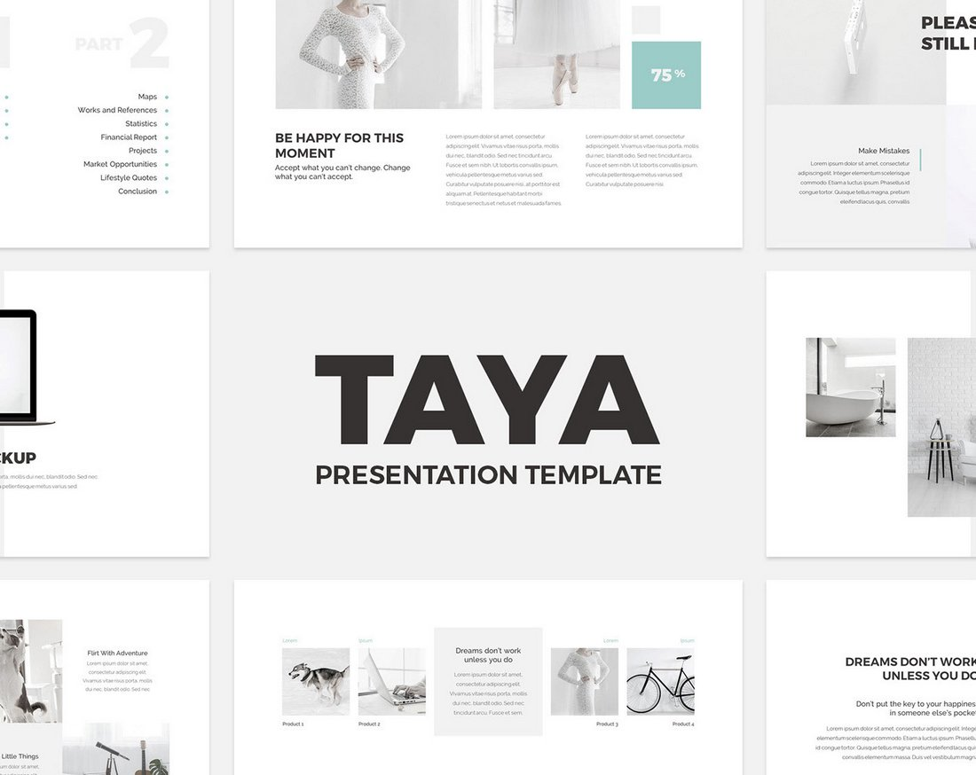 Taya - Free Creative Keynote Presentation