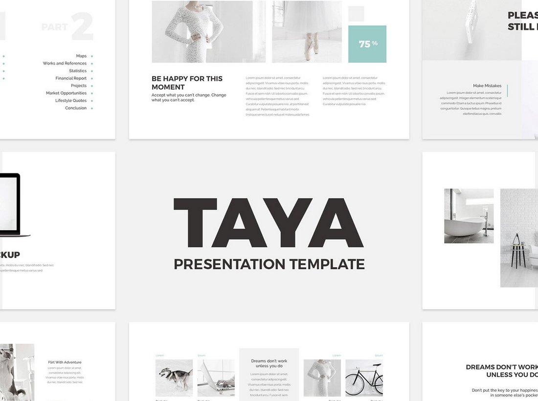 Taya-Free-Elegant-Keynote-Presentation 30+ Keynote Business Slide Templates design tips  Inspiration|business|keynote|presentation