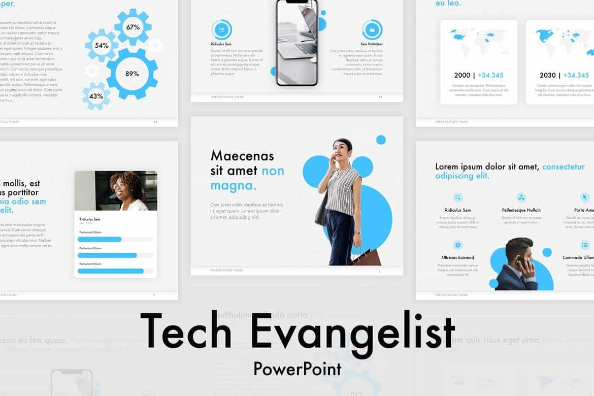 Tech Evangelist - PowerPoint Template