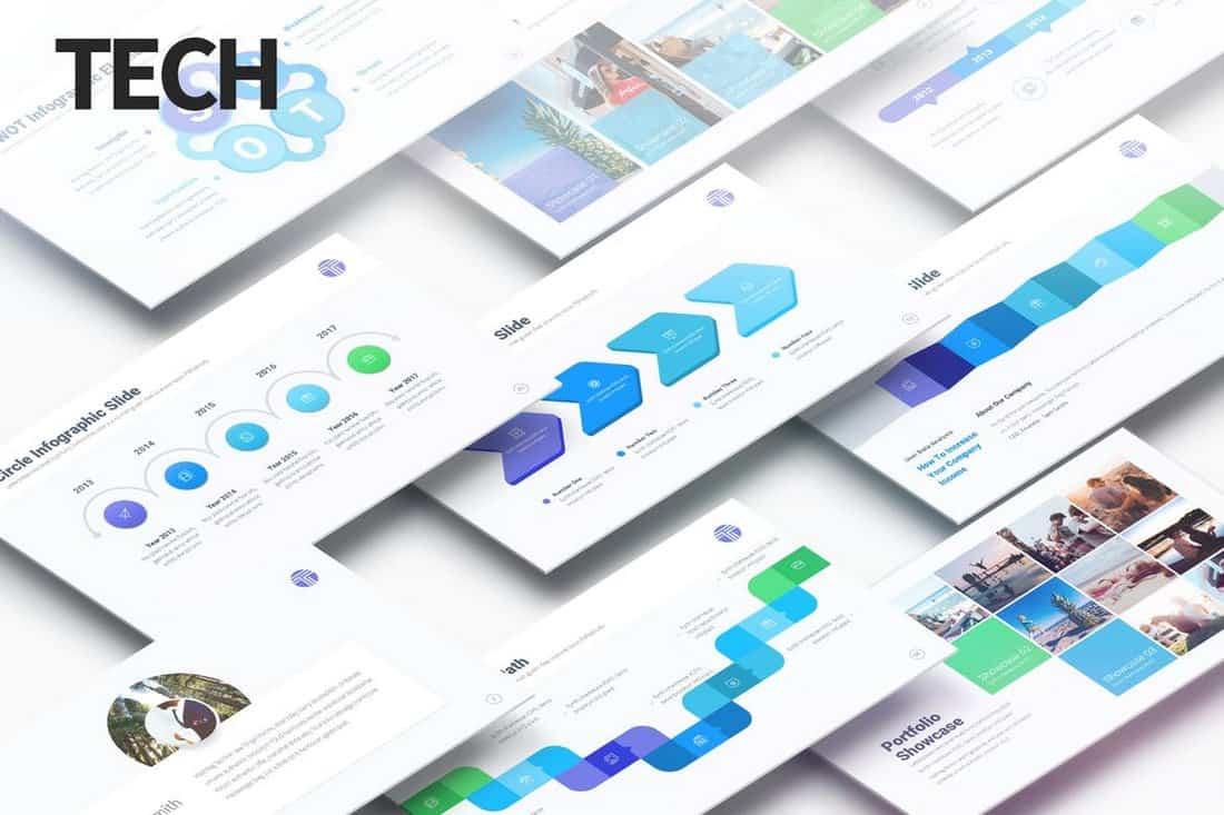 Tech - Présentation PowerPoint polyvalente  30+ Meilleurs modèles PowerPoint pour Science et technologie Tech Multipurpose PowerPoint Presentation