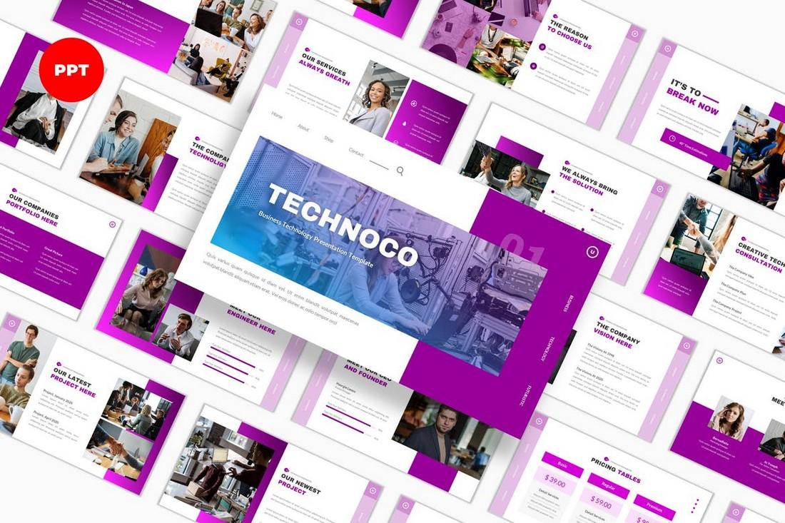 Technoco - Technology PowerPoint Template