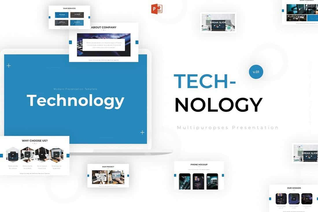 Technology - Modern Powerpoint Template