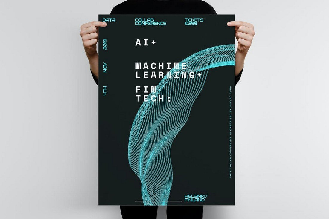 Technology Poster Template