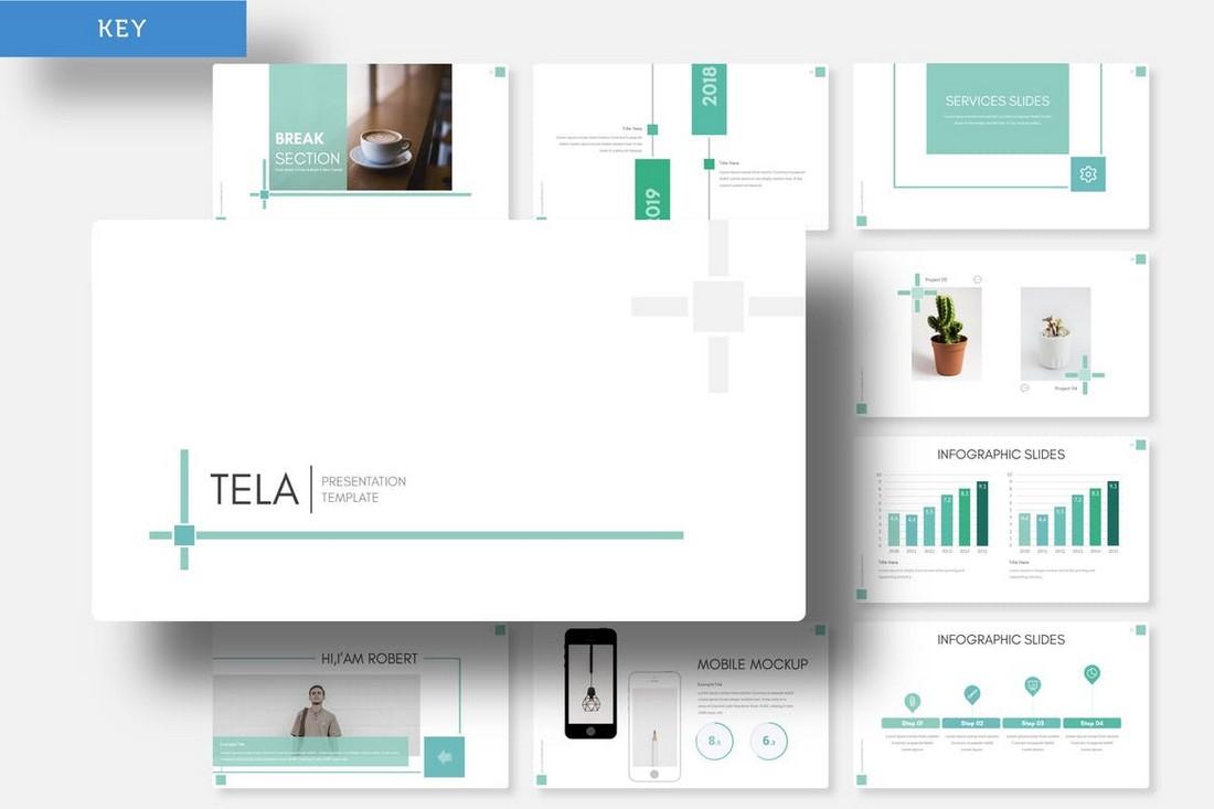 Tela - Keynote Template