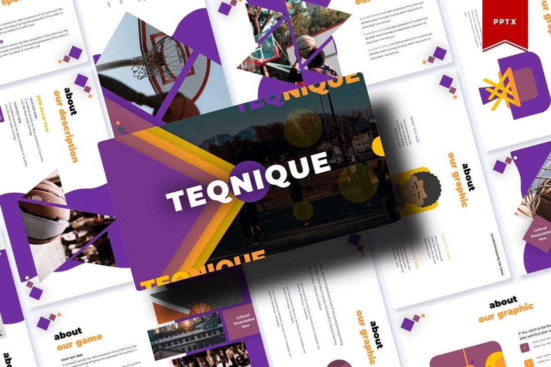Teqnique - Modern Creative PowerPoint Template