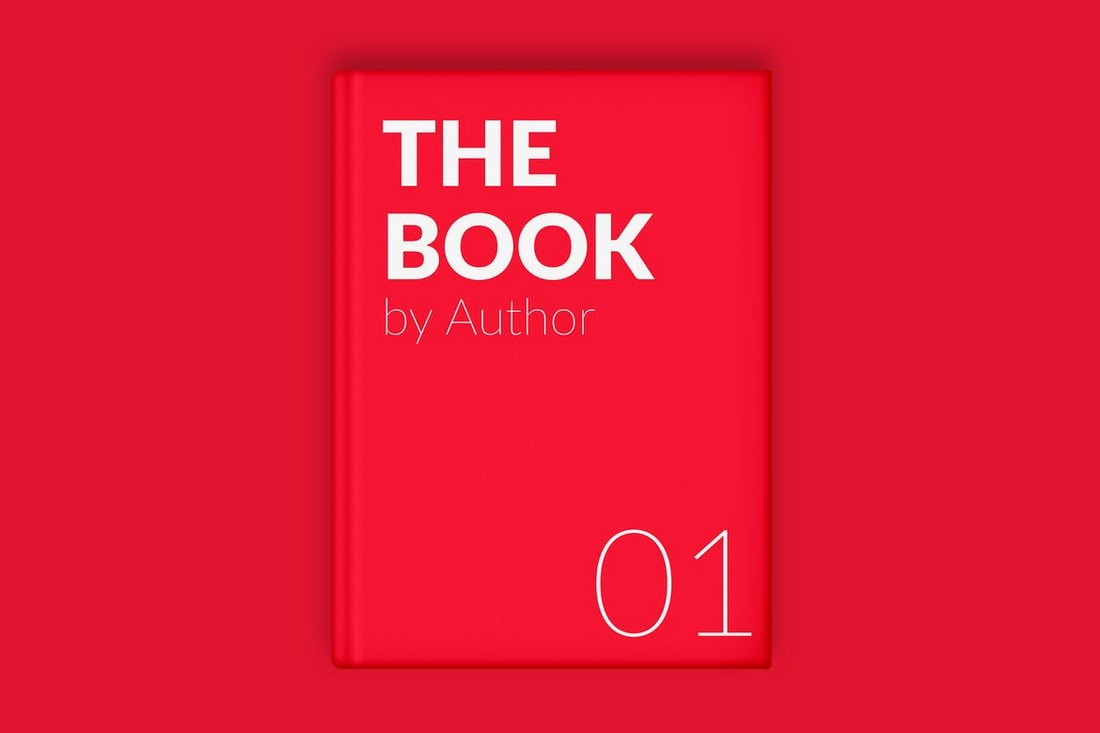 The-Book-Cover-Minimal-Mockup 20+ Best Book Cover Mockup Templates design tips