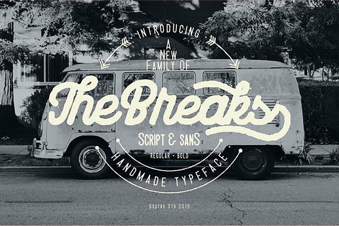 The-Breaks 25+ Best Monogram Fonts design tips