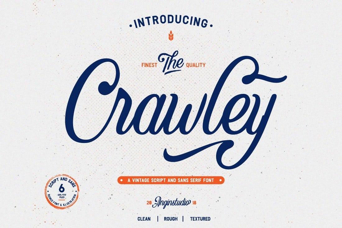The Crawley Script Font
