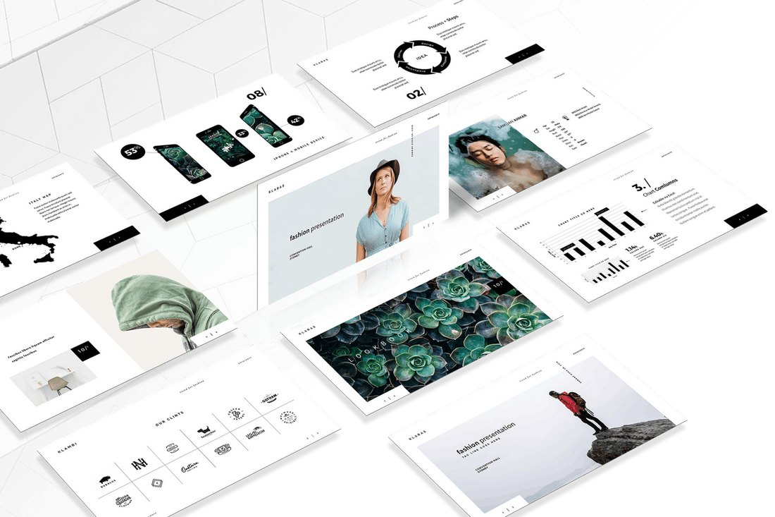The-Fashion-Animated-Keynote-Template 15+ Best Animated Keynote Templates With Stylish Transitions design tips