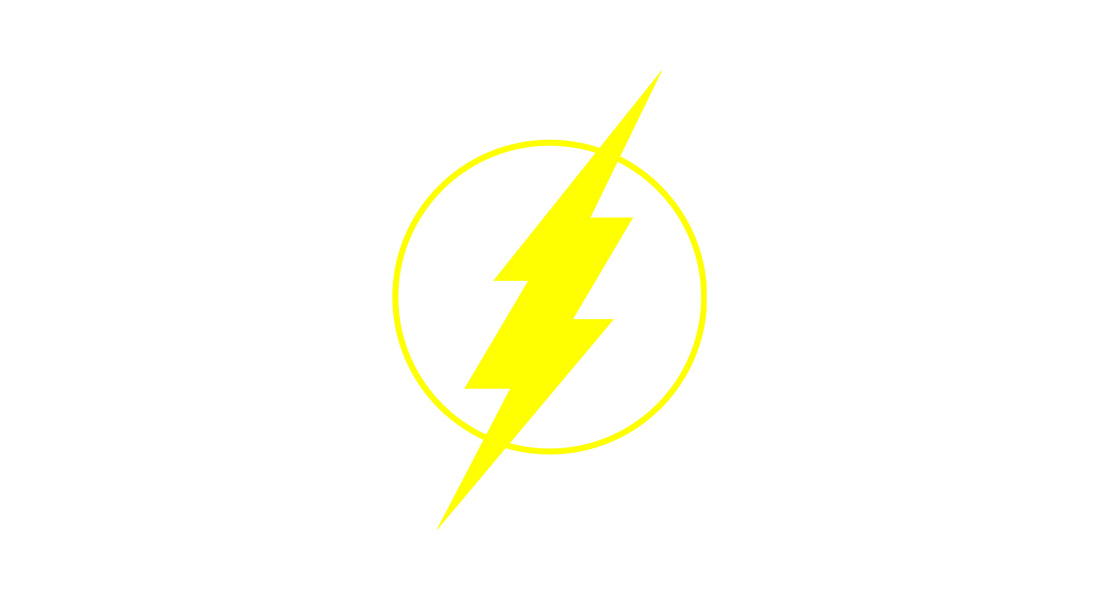 The Flash Logo Template