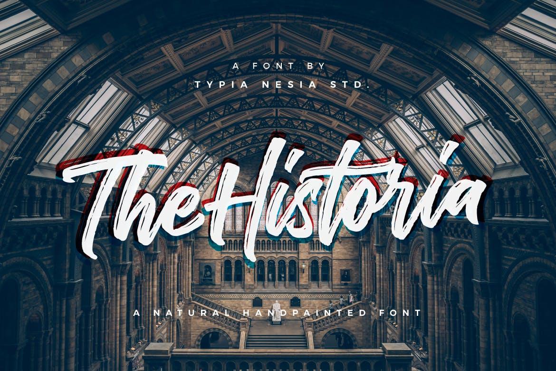 The-Historia 30+ Bold & Free Script Fonts design tips  Typography|fonts|script
