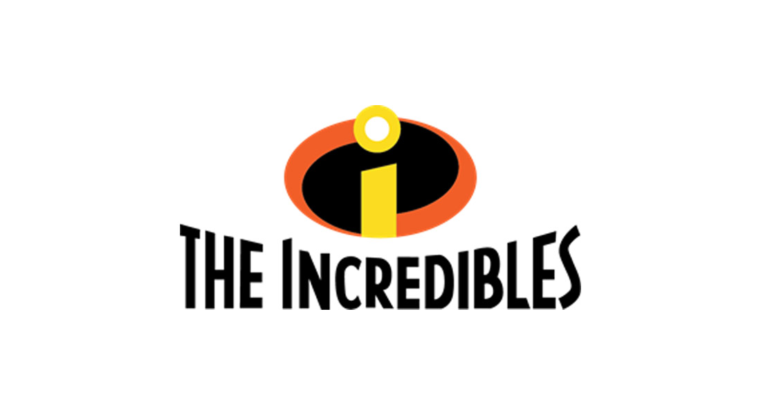 Le modèle de logo Incredibles