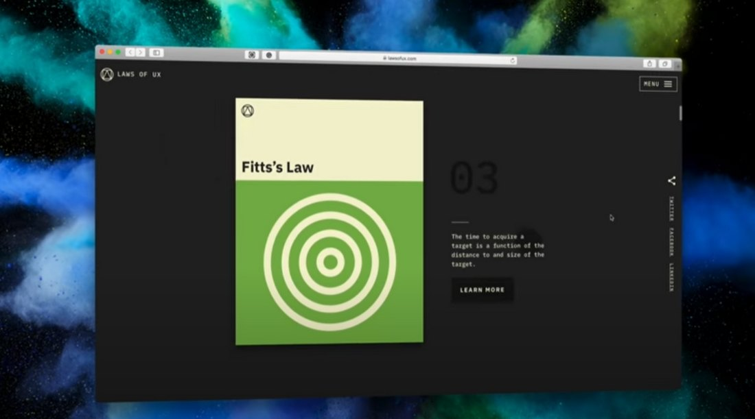 The Laws of UX - 19 Psychological Design Principles (Video)
