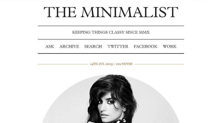 The-Minimalist-Free-Tumblr-Theme