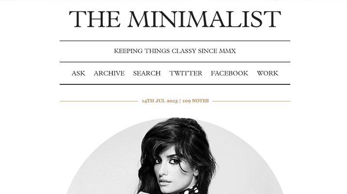 The-Minimalist-Free-Tumblr-Theme 50+ Best Free & Premium Tumblr Themes 2018 design tips