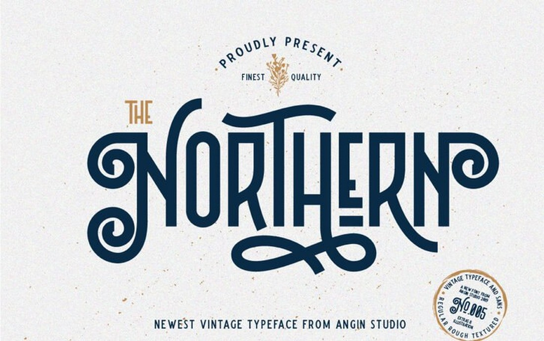 The Northern - Free Decorative Font