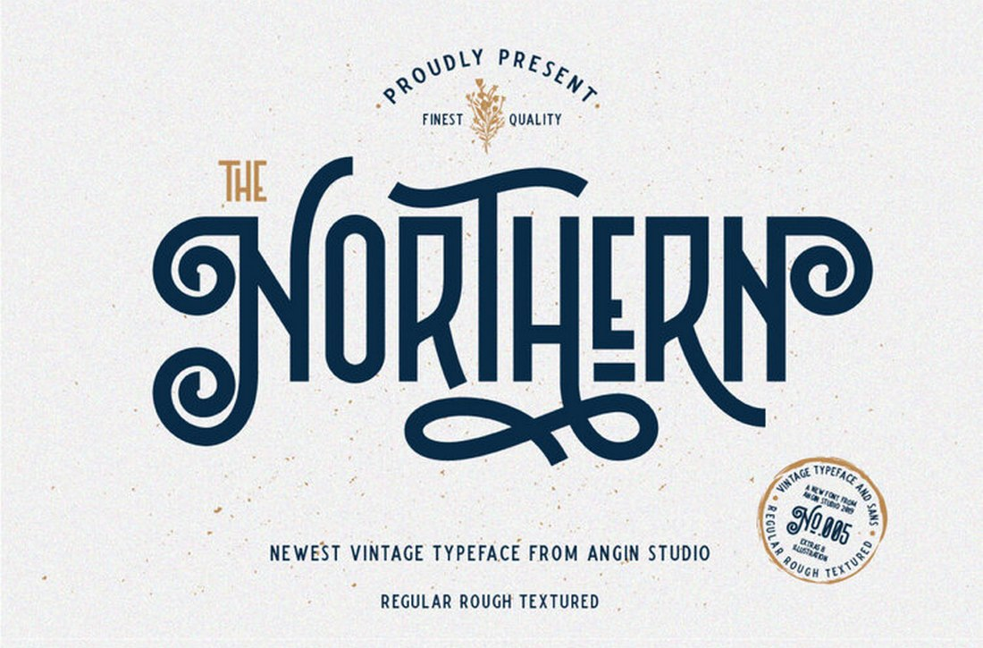 The Northern - Free Decorative Vintage Font