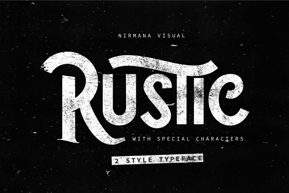 The Rustic - Free Rough Font