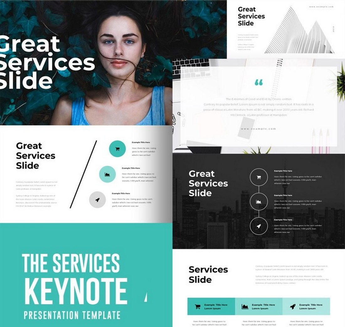 The-Services-Free-Keynote-Template 50+ Best Keynote Templates of 2021 design tips