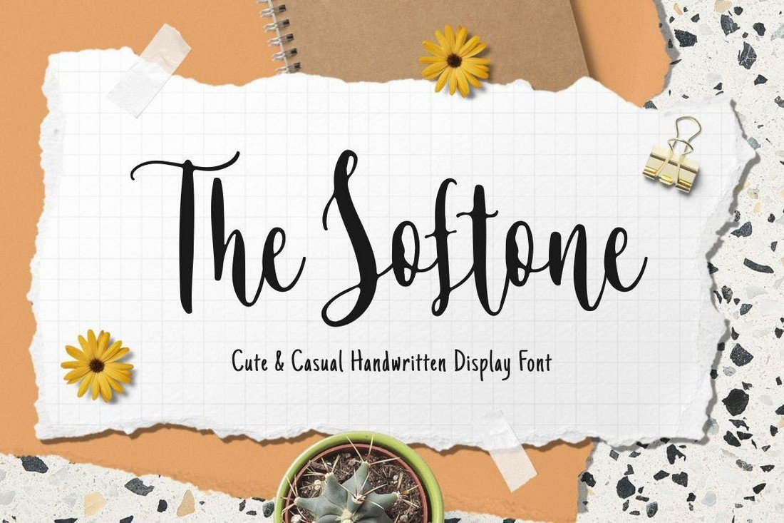 The-Softone-Casual-Handwriting-Font 50+ Best Hand Lettering & Handwriting Fonts 2021 design tips