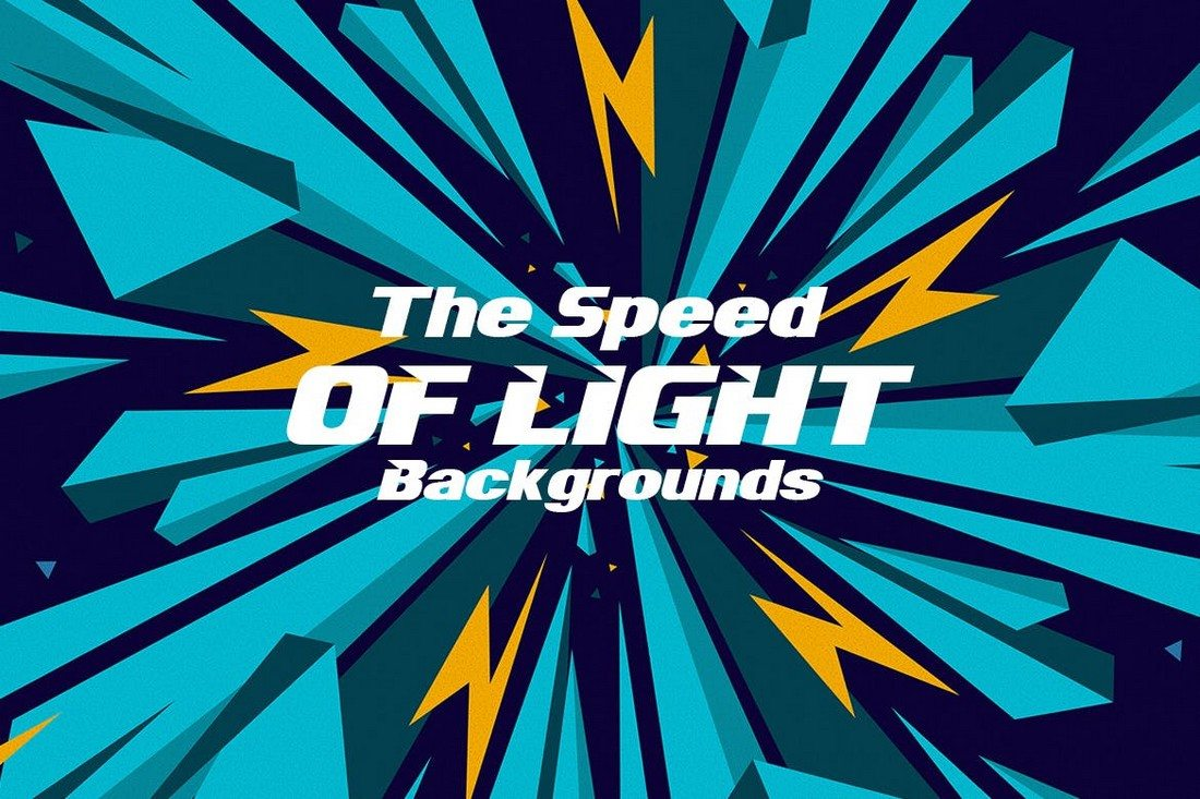 The-Speed-of-Light-Backgrounds 20+ Beautiful Geometric & Polygon Background Textures design tips