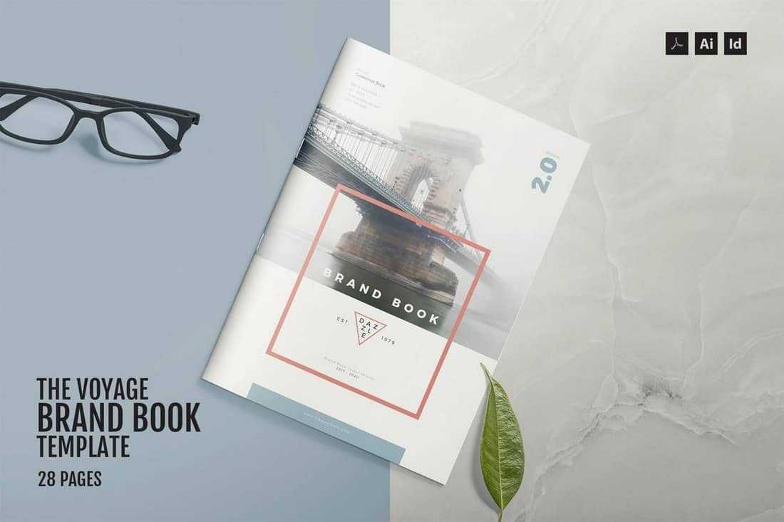 The Voyage - Brand Book Template