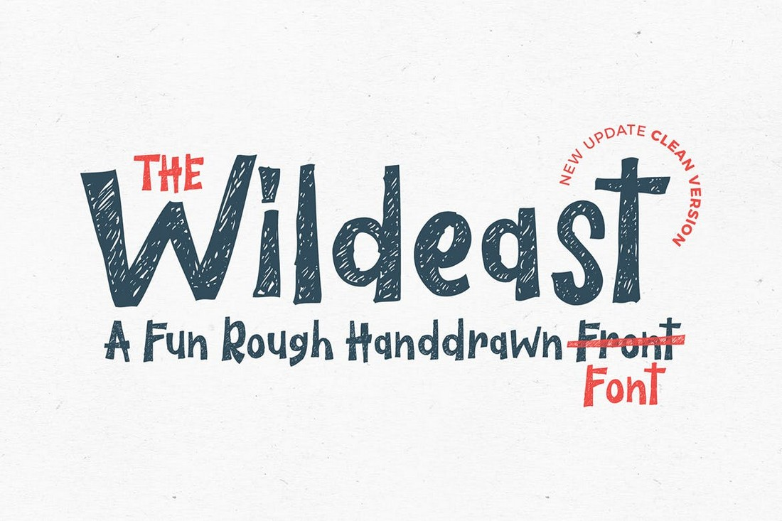 The-Wildeast-Handwritten-Poster-Font 60+ Best Big, Poster Fonts of 2021 design tips