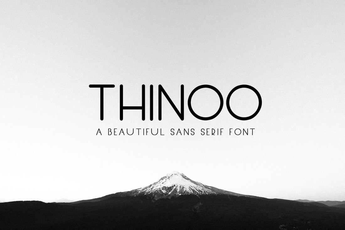 Thinoo-free-sans-serif-font 60+ Best Free Fonts for Designers 2020 (Serif, Script & Sans Serif) design tips