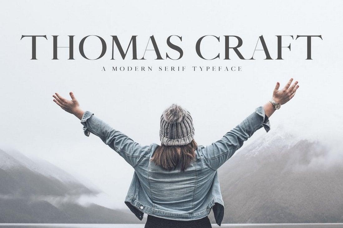 Thomas Craft - Modern Serif Typeface