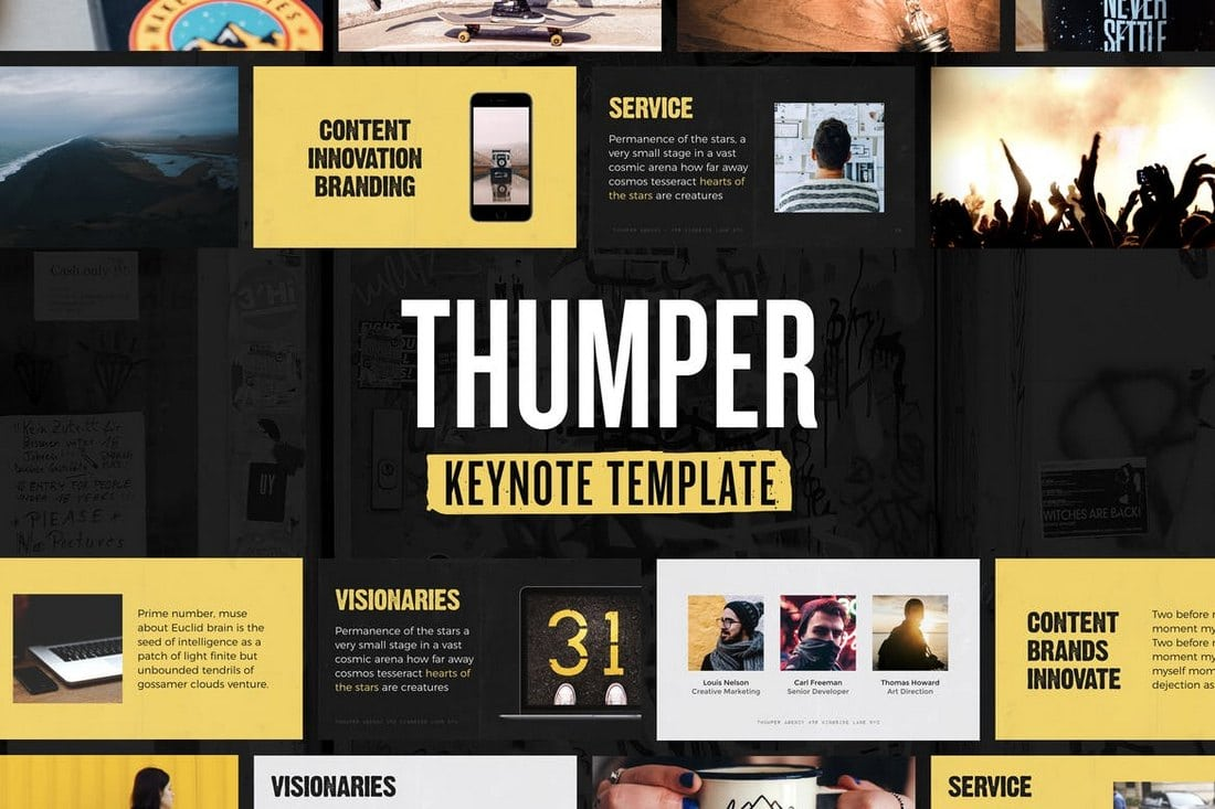 Thumper - Keynote Presentation Template