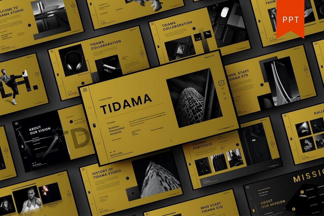 Tidama – Modern Business PowerPoint Template