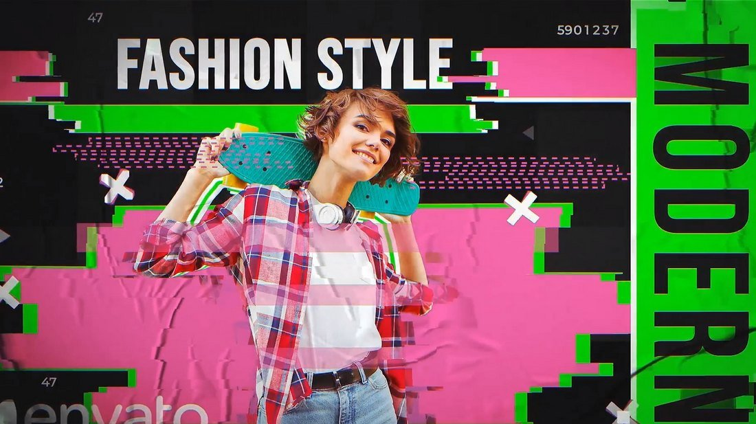 TikTok Fashion Colorful Video Templates