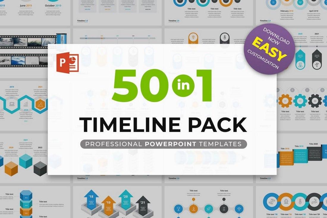 Timeline 2.0 - Multipurpose PowerPoint Template