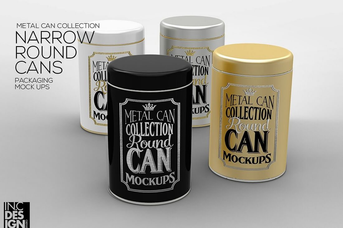 Tins-Packaging-Mock-Up 40+ Stunning Vintage Mockup Packs & Graphics design tips
