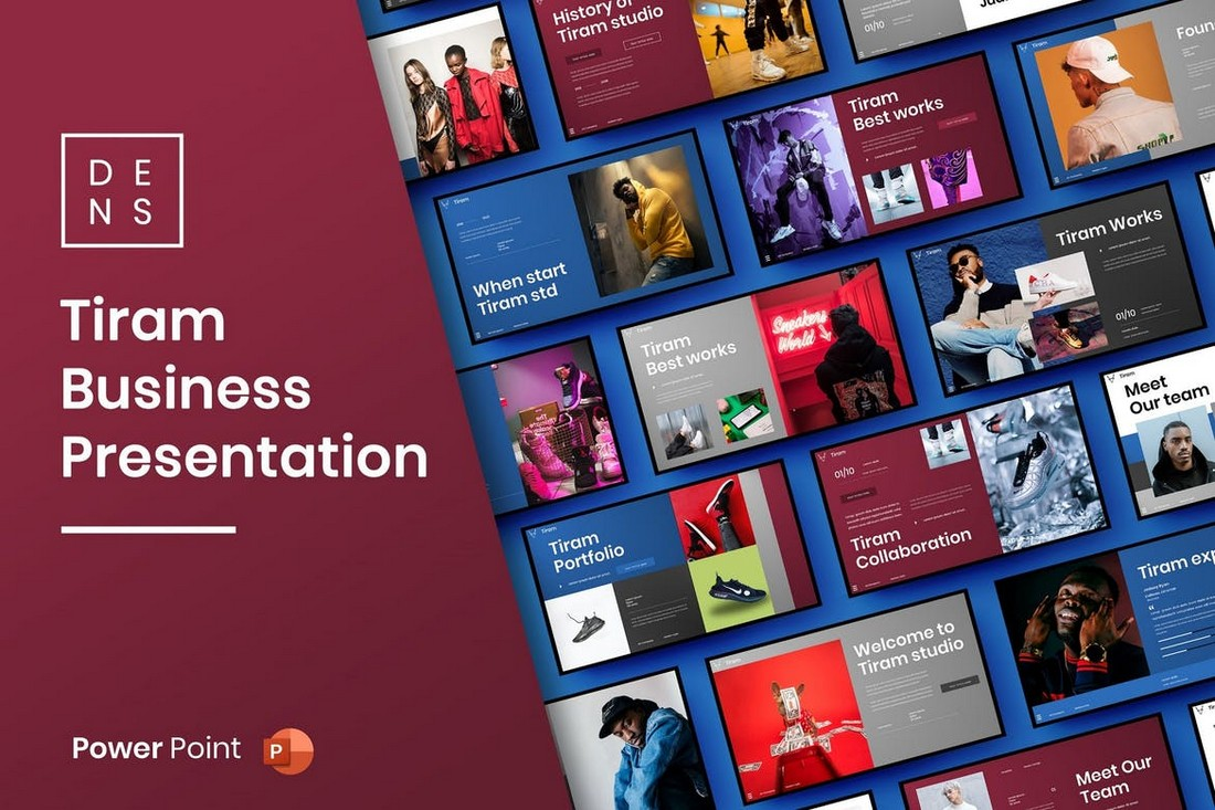 Tiram - Modern Business PowerPoint Template