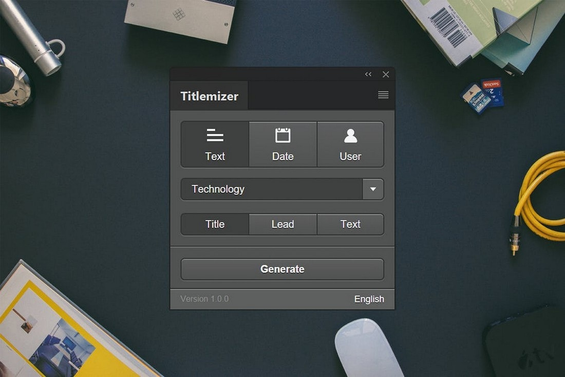 Titlemizer - Tile Generator Photoshop Plugin