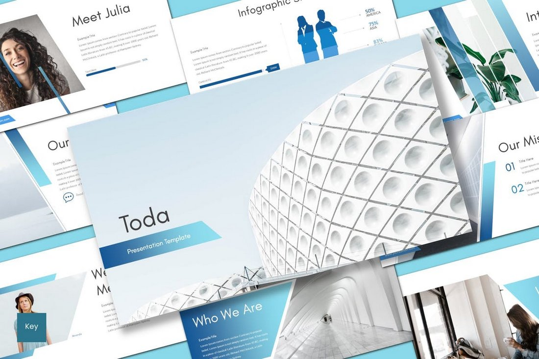 Toda - Keynote Template