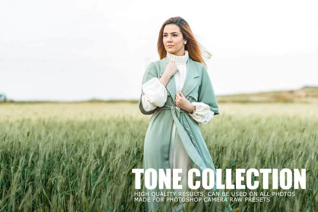 Tone Collection CameraRaw Portrait Photoshop Actions