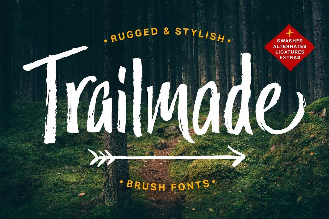 Trailmade-Font-Family 40+ Best Condensed & Narrow Fonts of 2019 design tips