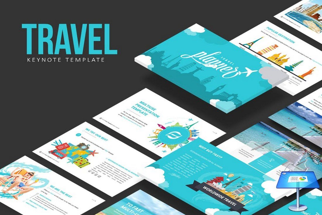 Travel-Keynote-Template 30+ Best Keynote Templates of 2018 design tips