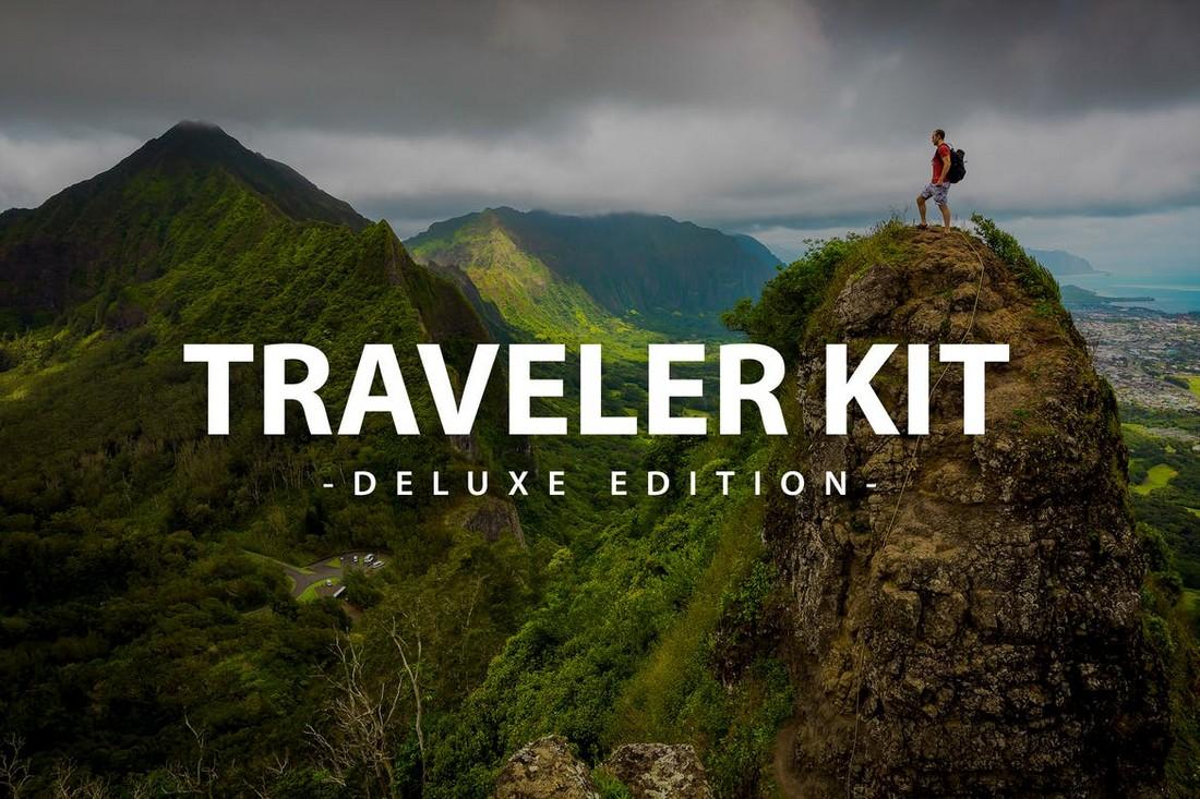 Traveler Kit - Mobile & Desktop Lightroom Presets