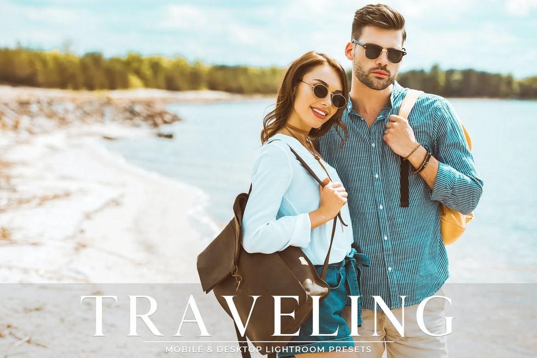 Traveling - Mobile & Desktop Lightroom Presets Pack
