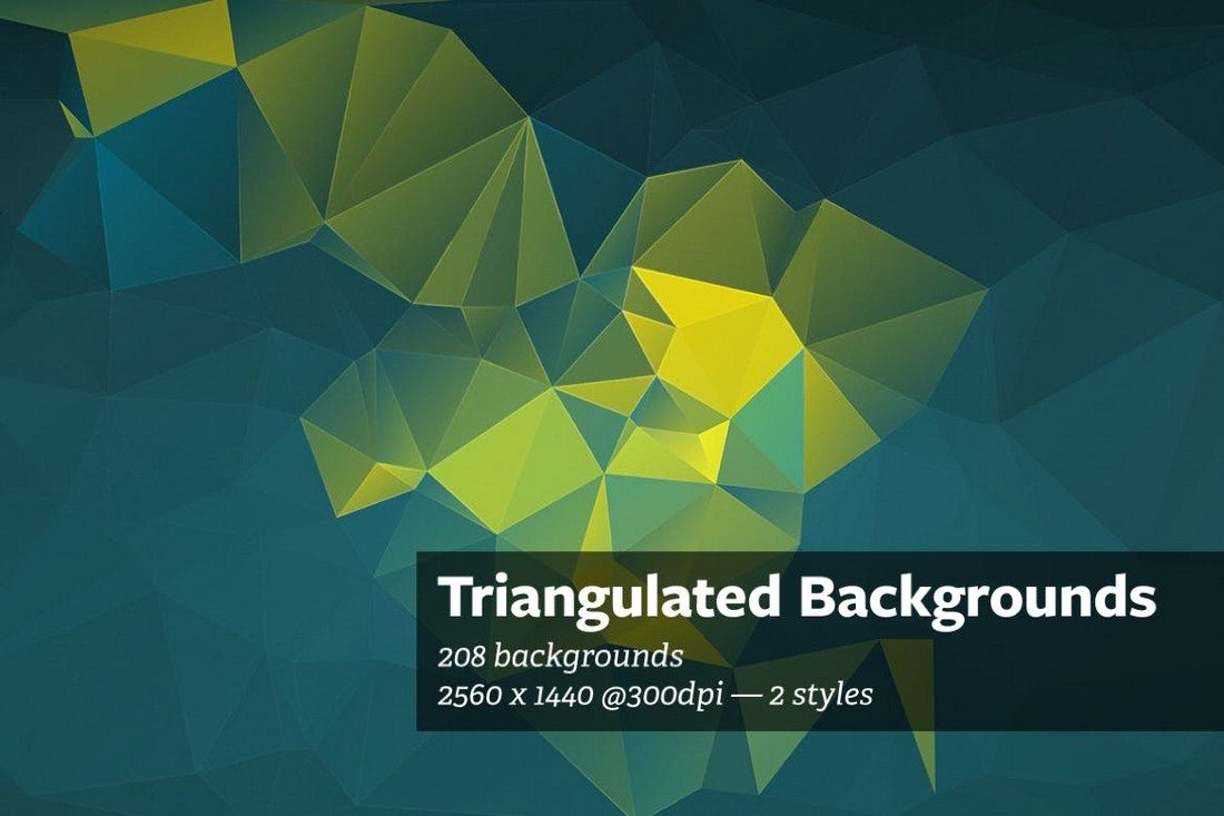 Triangulated-Abstract-Backgrounds 20+ Beautiful Geometric & Polygon Background Textures design tips
