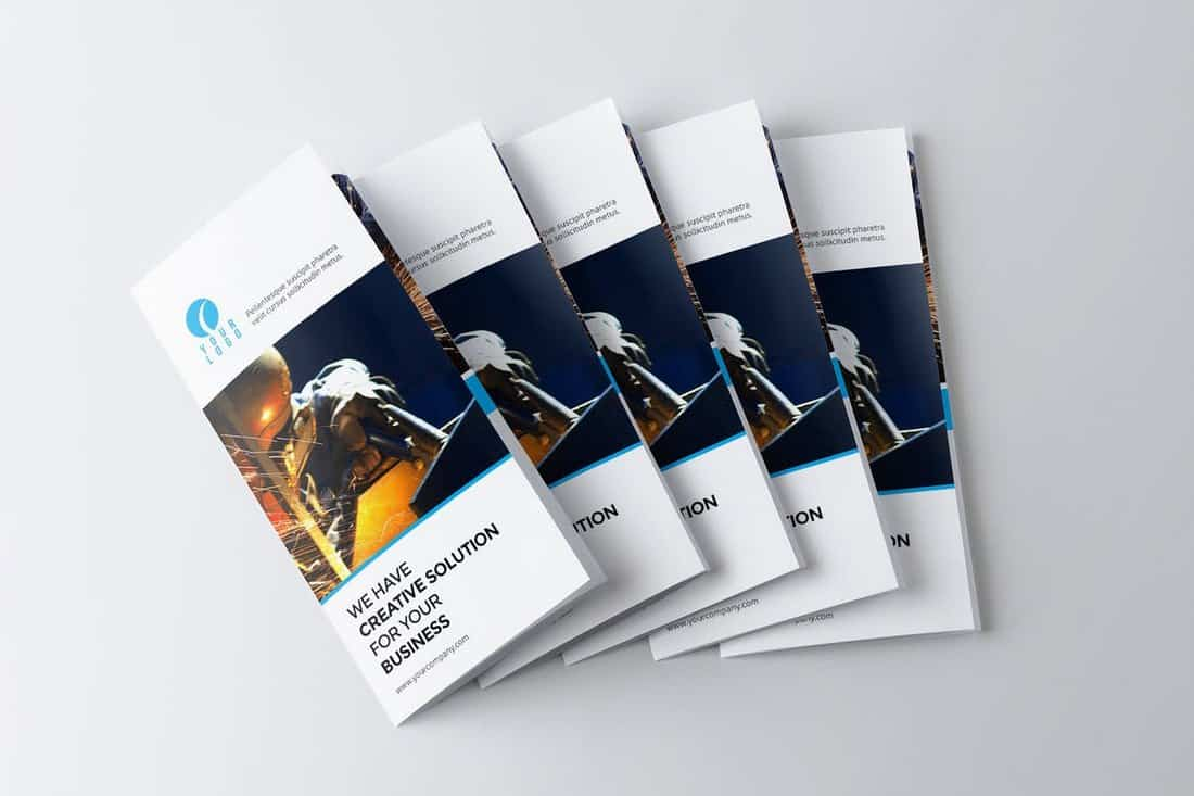 Trifold - Multipurpose Corporate Brochures