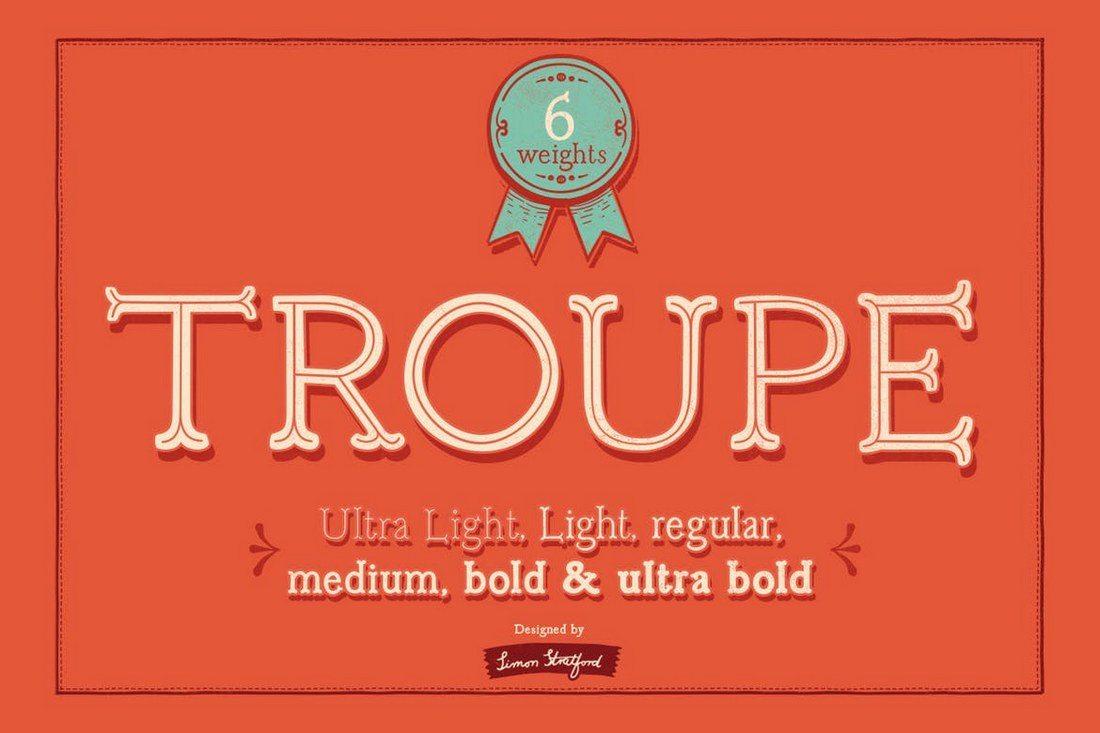 Troupe-Slab-Font 50+ Best Slab Serif Fonts of 2021 design tips
