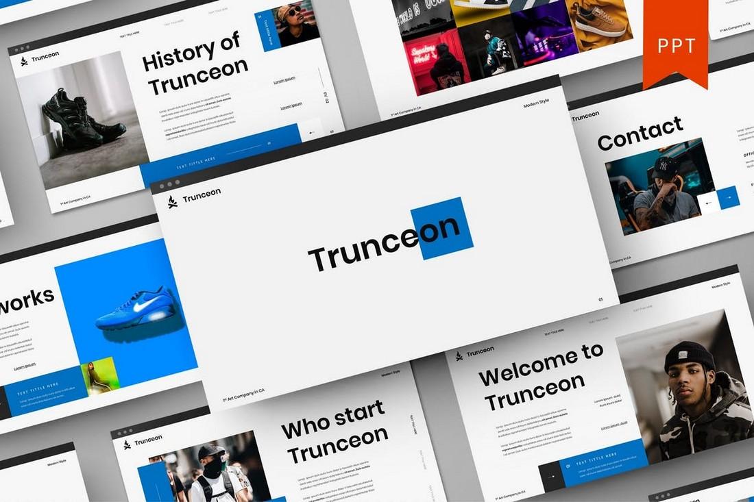 Trunceon – Startup PowerPoint Template
