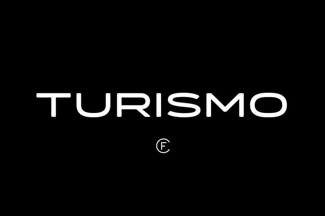 Turismo-CF 60+ Best Big, Poster Fonts of 2019 design tips