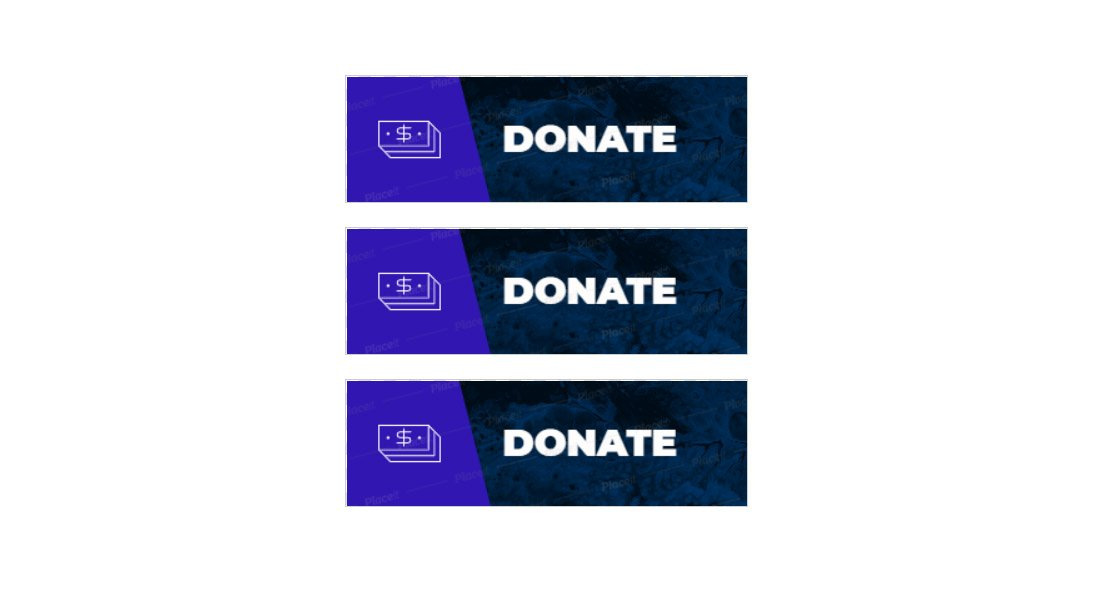 Twitch-Donate-Panel-Template 15+ Best Twitch Panel Templates & Makers 2021 (Free & Premium) design tips
