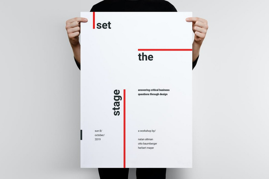 Typography Poster Template